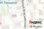 Схема проезда до компании Sorb.ru в Москве