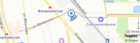 Формула Света на карте Москвы
