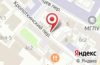 Схема проезда до компании Казачество в Москве