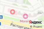 Схема проезда до компании Латтеа в Бутово