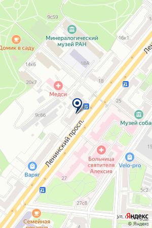 ИНФОРМАЦИОННОЕ АГЕНТСТВО ИНФОТЭК-ТЕРМИНАЛ на карте Москвы