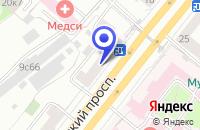Схема проезда до компании БАГЕТНАЯ МАСТЕРСКАЯ ВОСТОК-СЕРВИС М в Москве