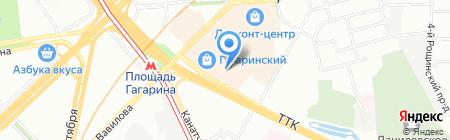 Kebab Grill на карте Москвы