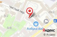 Схема проезда до компании Межрегионстрой в Москве