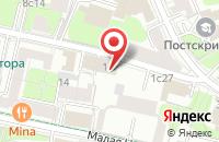 Схема проезда до компании Стройситигрупп в Москве