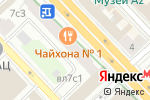 Схема проезда до компании Континент финанс в Москве