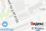 Схема проезда до компании Электросетьстройпроект в Москве