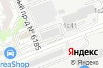 Схема проезда до компании Электросети в Москве