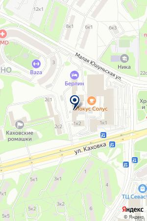 ПТФ R-STAR на карте Москвы