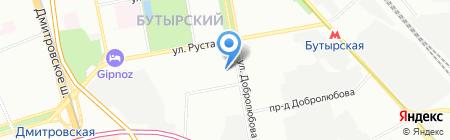 Классный на карте Москвы