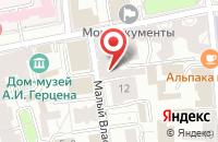 Схема проезда до компании Общество Защиты Прав Автомобилистов в Москве