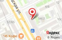 Схема проезда до компании Комбигрупп в Москве