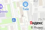 Схема проезда до компании Администрация муниципального округа Марфино в Москве