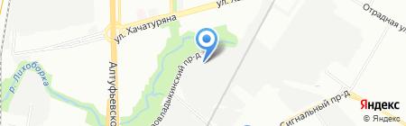 Тахограф Сервис М на карте Москвы