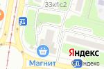 Схема проезда до компании Рублевские колбасы в Москве