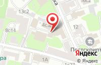 Схема проезда до компании Эверест Капитал в Москве