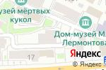 Схема проезда до компании VANILIA в Москве