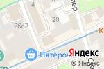 Схема проезда до компании Hesburger в Москве