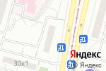 Схема проезда до компании Genstar в Москве