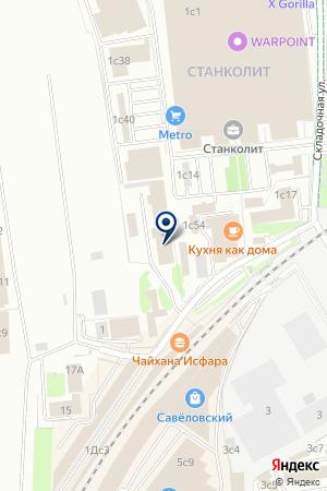 ПРОИЗВОДСТВЕННАЯ ФИРМА МЯГКАЯ ЖИЗНЬ на карте Москвы