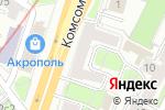 Схема проезда до компании Парикмахерская №3 в Москве