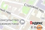 Схема проезда до компании Альманах рынков и банков в Москве
