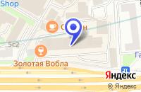 Схема проезда до компании ПТФ КАСКАД-МЕБЕЛЬ в Москве