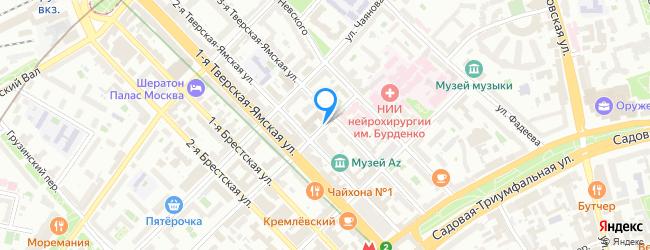 переулок Тверской-Ямской 2-й