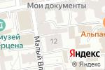 Схема проезда до компании Веб-формула в Москве