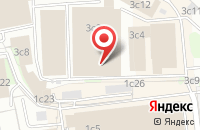 Схема проезда до компании Ескай.Ру в Москве