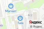 Схема проезда до компании ТИМ-99 в Москве