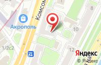 Схема проезда до компании Профстрой в Москве