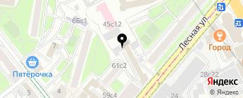 LOFT GARAGE на карте Москвы