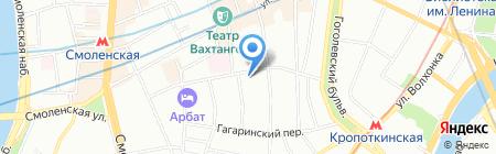 Бабушка на карте Москвы