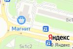Схема проезда до компании Святцы в Москве
