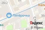 Схема проезда до компании Фламинго в Москве