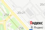 Схема проезда до компании Академия Розничных Технологий в Москве