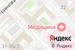 Схема проезда до компании Визави Тревел в Москве