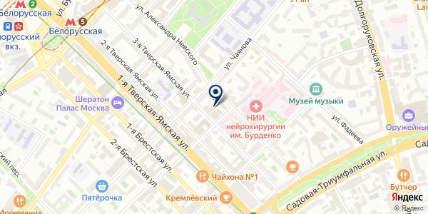 ПРЕДСТАВИТЕЛЬСТВО В МОСКВЕ АВТОМОБИЛЬНАЯ КОМПАНИЯ TATRA AS на карте Москве