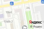 Схема проезда до компании Ля фантази в Москве
