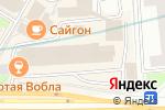 Схема проезда до компании SHDoors в Москве