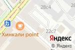 Схема проезда до компании Линия жизни в Москве
