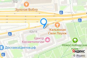 Сдается комната в трехкомнатной квартире в Москве Новослободская улица, 62к17