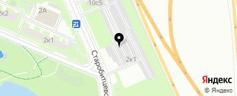 БутовоТим на карте Москвы