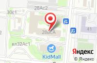 Схема проезда до компании 7Я Звезда в Москве