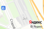 Схема проезда до компании БутовоТим в Москве