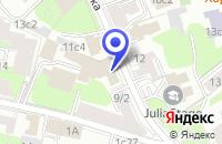 Схема проезда до компании АРХИТЕКТУРНАЯ ФИРМА АРТИСТИК-ДИЗАЙН в Москве
