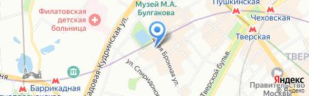 Риэлт-сити МИР на карте Москвы