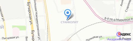 Bestsafe на карте Москвы