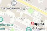 Схема проезда до компании Деловая лига в Москве